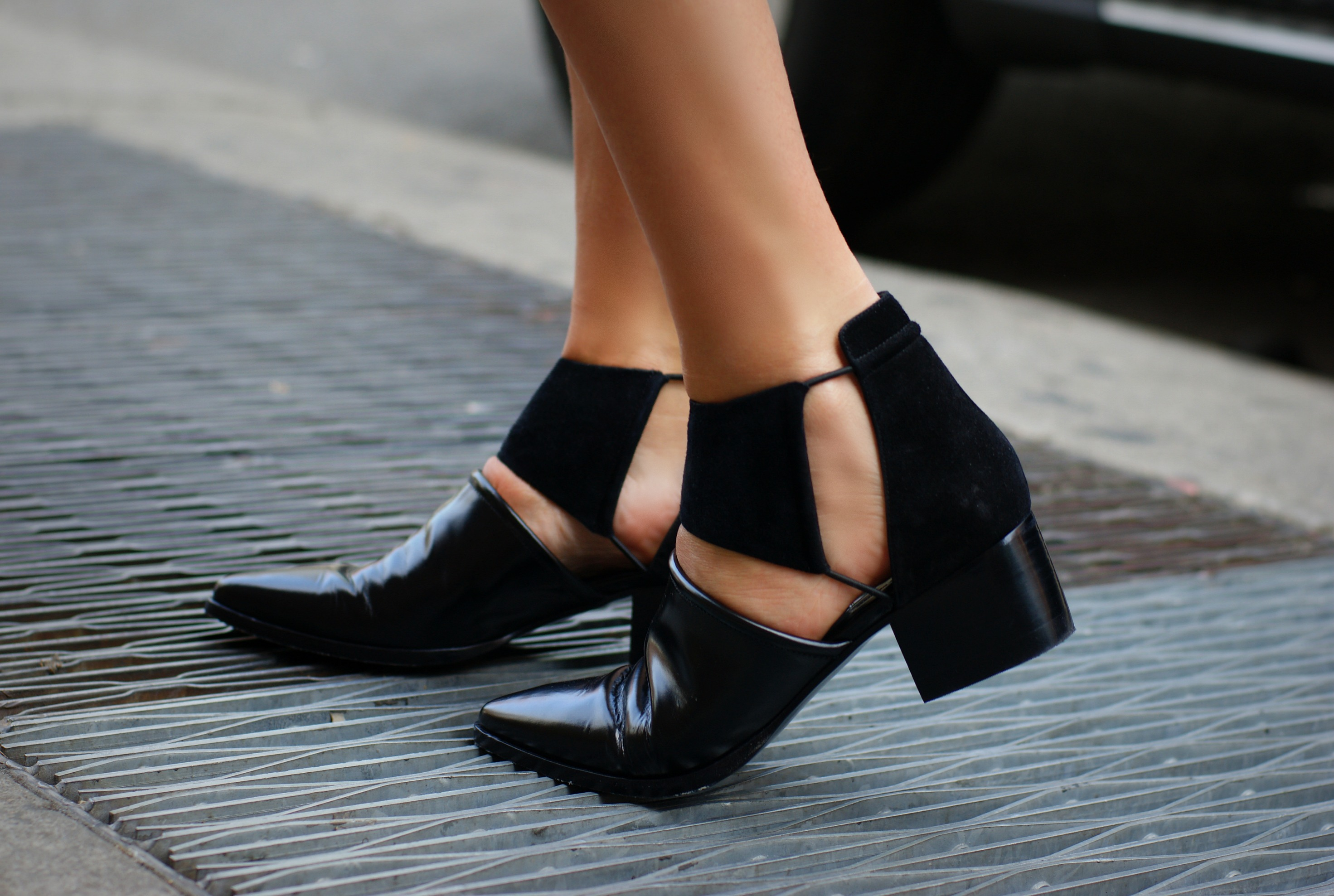 Open-Toe Booties are Like the Vests of