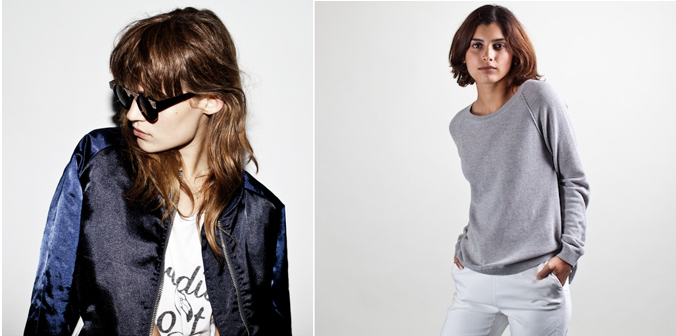 new zoe karssen and everlane