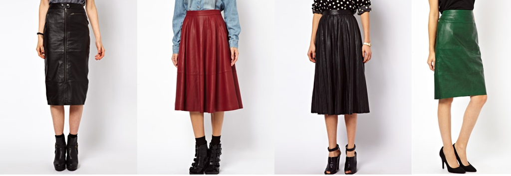 Fall Staple: The Leather Skirt | The Wrong Coast