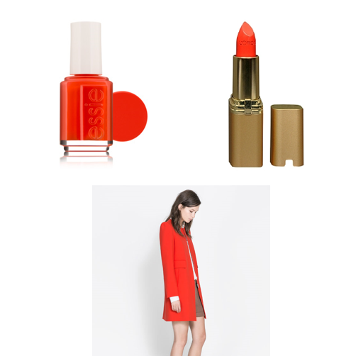 coral fashion trend fall winter