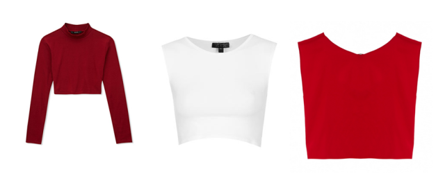 crop tops forever 21 topshop alice and olivia