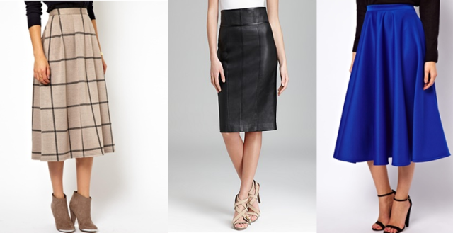 high waisted skirts asos burberry