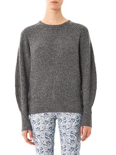 isabel marant barett ribbed sweater
