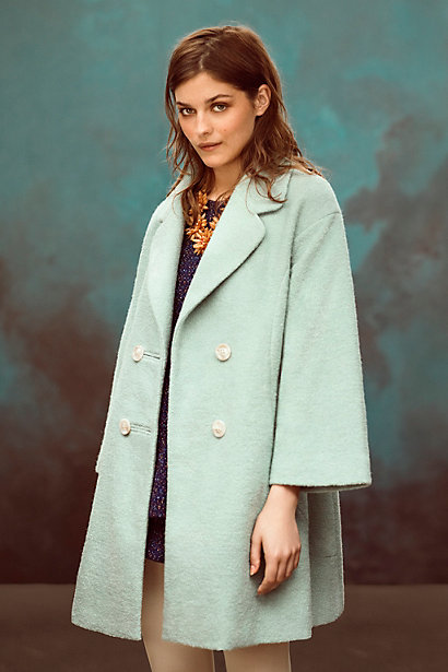 clovelly trapeze anthroplogie coat