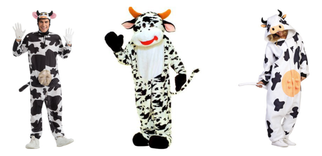 adult cow costumes halloween