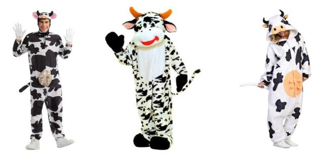 adult cow costumes halloween