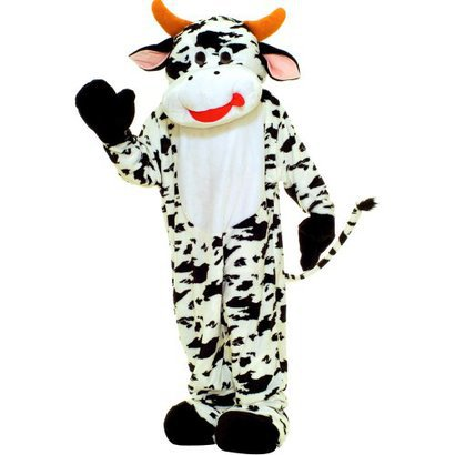 cow target costume