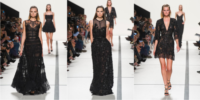 elie saab spring summer ss 2014 paris fashion week