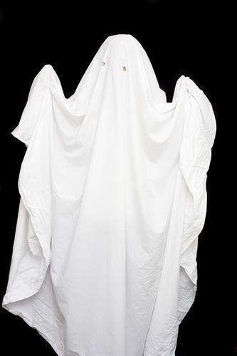 homemade ghost costume