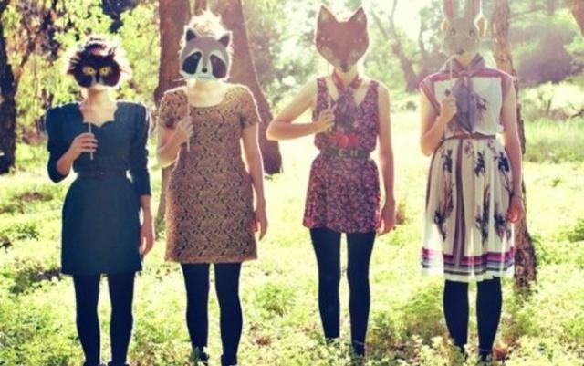 vice hipster animal masks