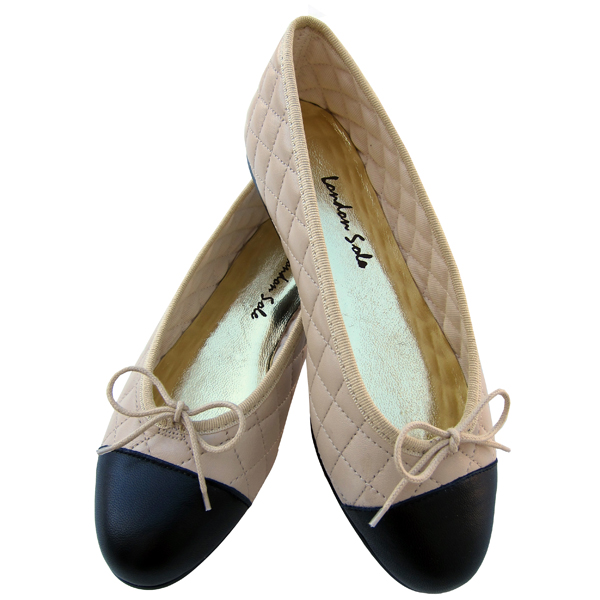 london sole ballet flats shoes