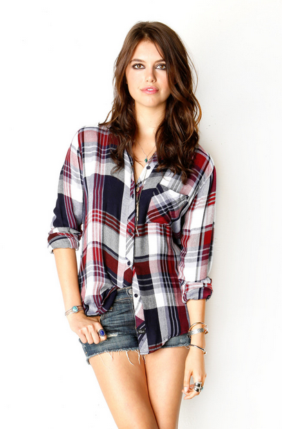 rails la hunter plaid wine white navy red