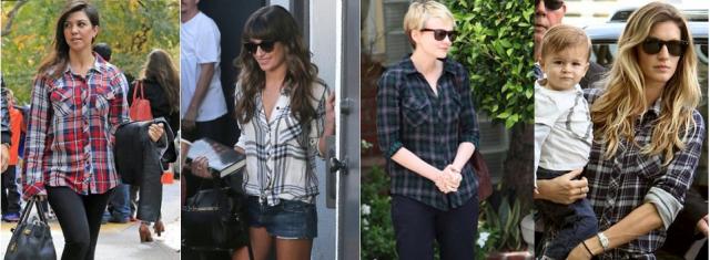 celebrity style rails la clothing plaid shirts