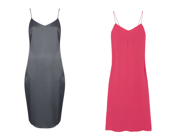 topshop tibi slip dress