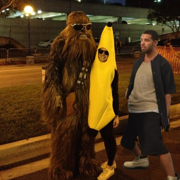 drake shake iphone app halloween drizzy banana costume chewbacca