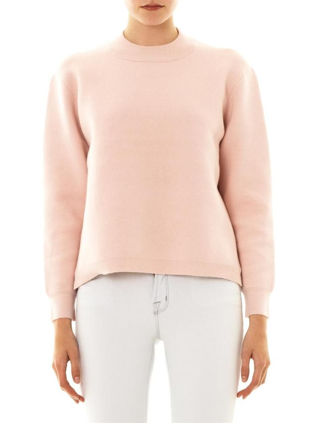 acne studios pink misty sweater