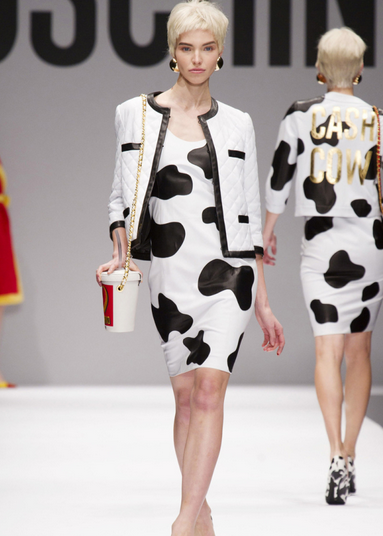 jeremy scott moschino cash cow milan fashion week