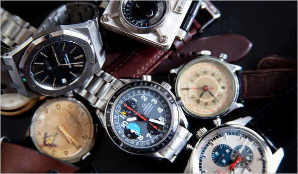 wristwatch sales increasing ny times