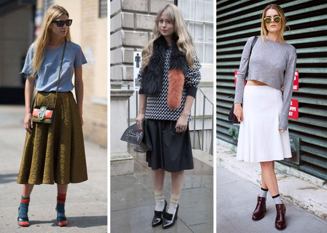 socks and shoes sandals trend