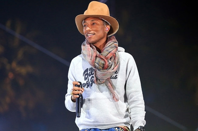 pharrell williams coachella 2014