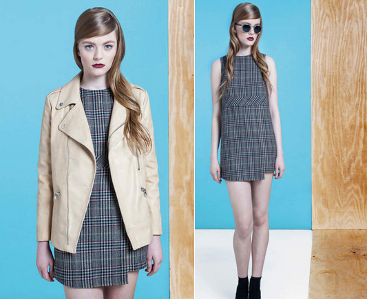 dolores haze fall 2014 plaid dress