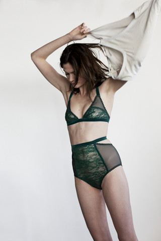 lonely lingerie sable full cup bra