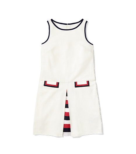 zooey deschanel tommy hilfiger dress
