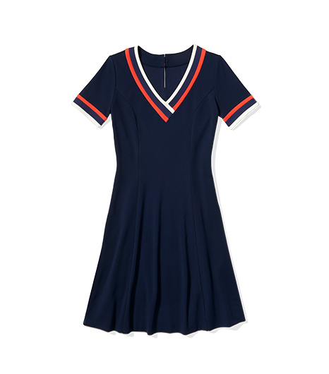 for tommy from zooey school girl dress