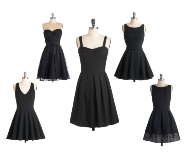 modcloth lbd little black dress lace