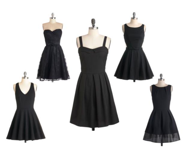 modcloth lbd little black dress lace