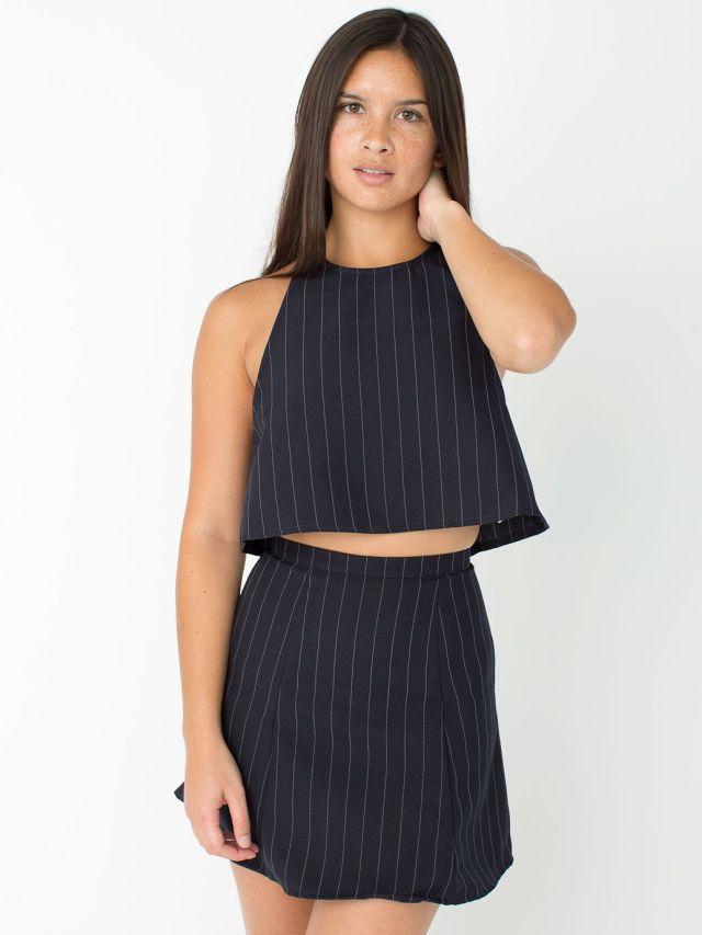 american apparel lolita crop top