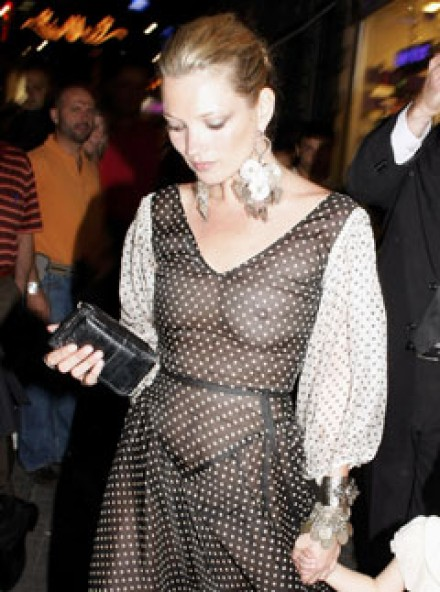 kate moss see through dress