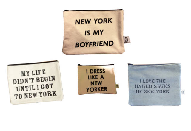 pamela barsky etsy cosmetic bags new york is my boyfriend