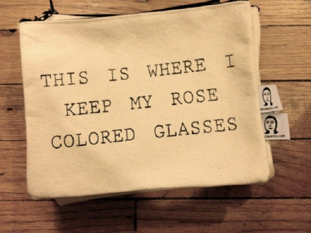 pamela barsky etsy shop bags pouches rose colored glasses
