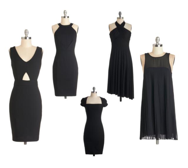 modcloth lbd little black dress