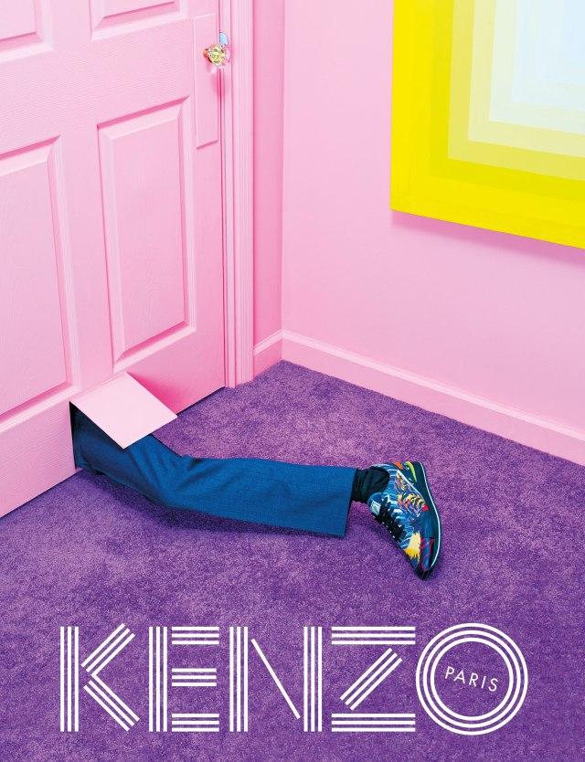 david lynch kenzo ad campaign