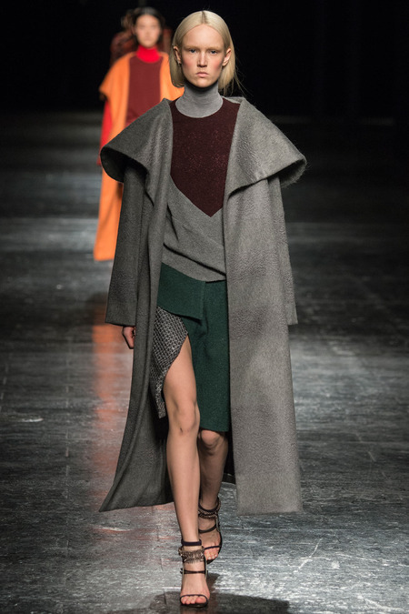 prabal gurung fall 2014 rtw robe coat trend