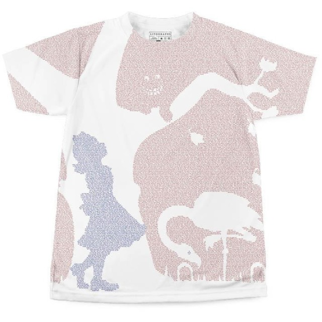litographs alice in wonderland tee t shirt