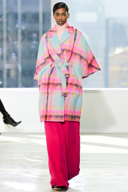 Delpozo wrap robe coat fall 2014 fashion trend
