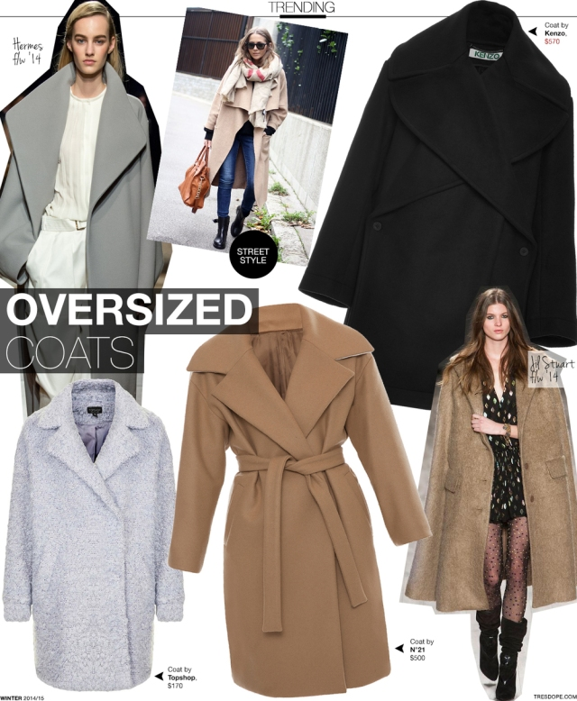 oversized coats outerwear tres dope fashion trends