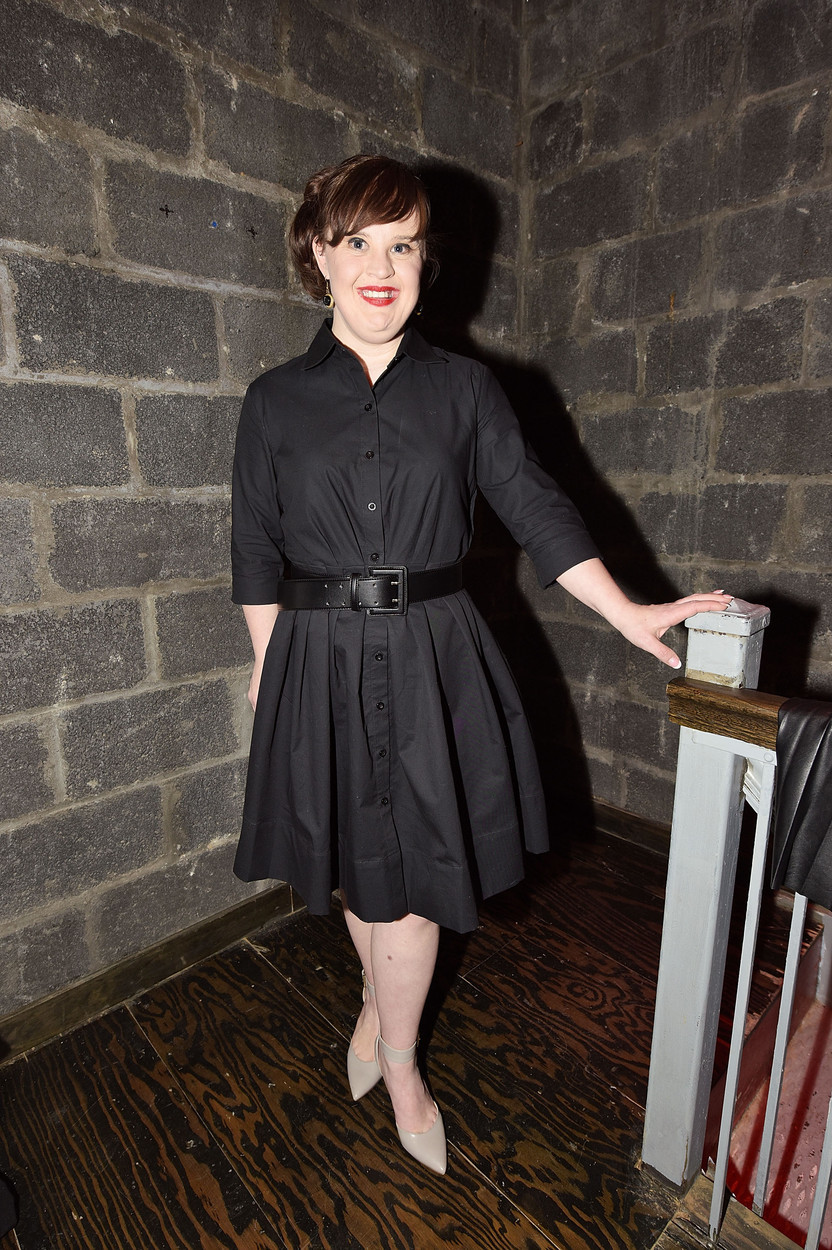 jamie brewer actress nyfw new york fashion week