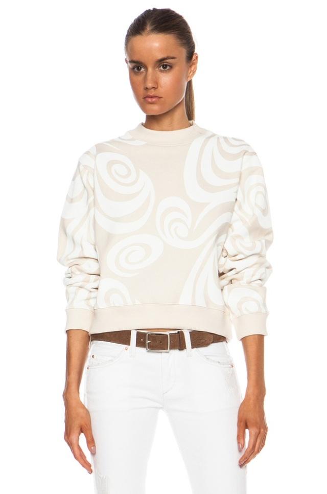 acne bird sweatshirt