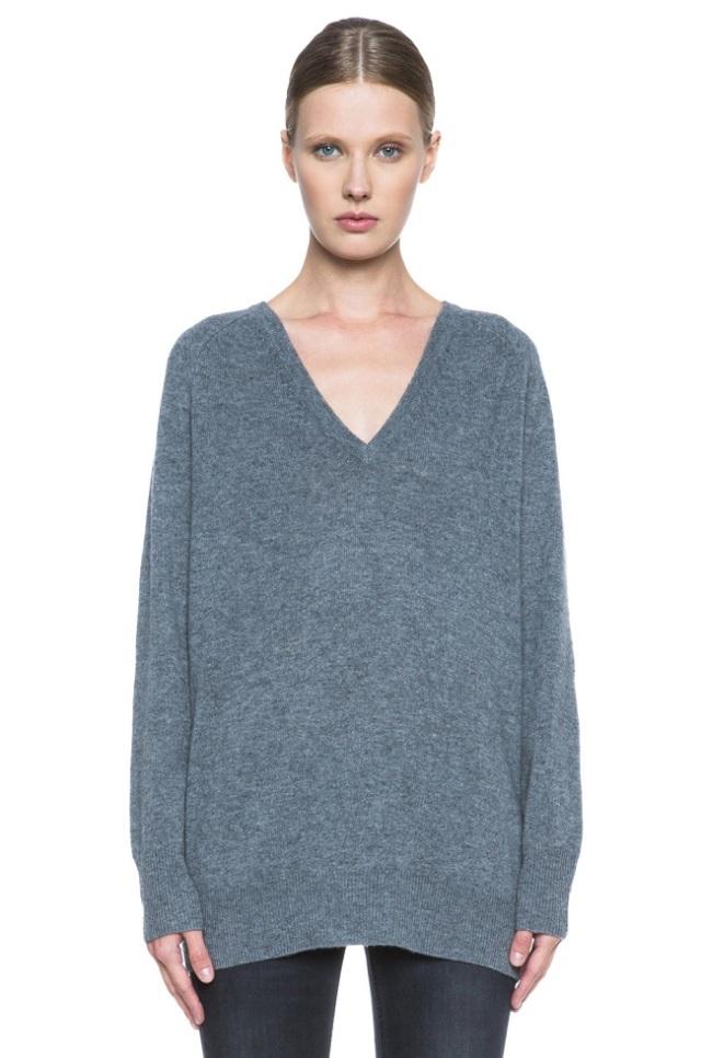 equipment v neck sweater