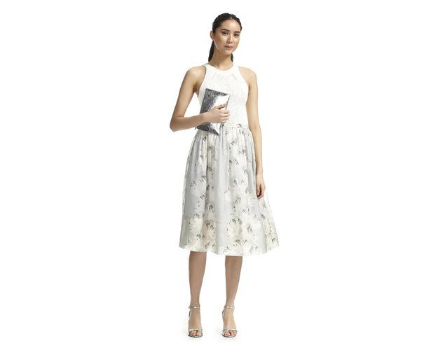 whistles a-line midi skirt trend